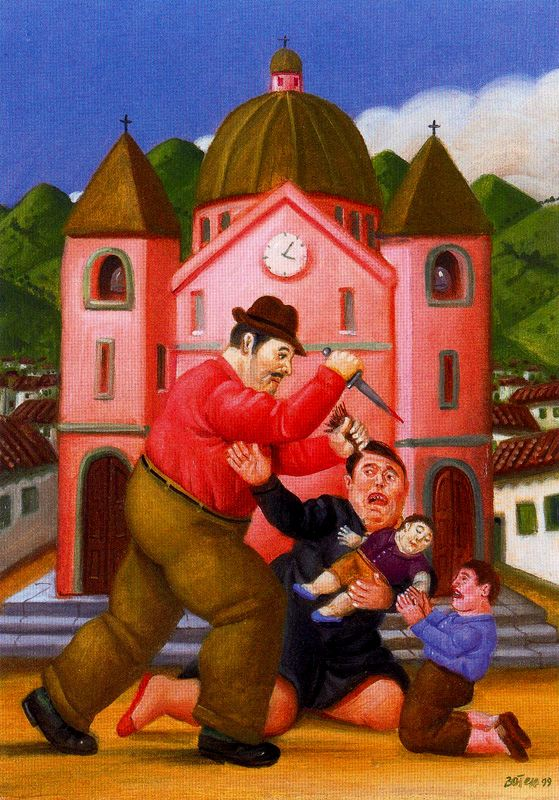 Fernando botero y los lienzos comprometidos arte la aldea irreductible - Fotos de botero ...