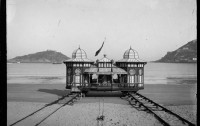"""""""The bathing machine of Alfonso XIII"""" 1908"""