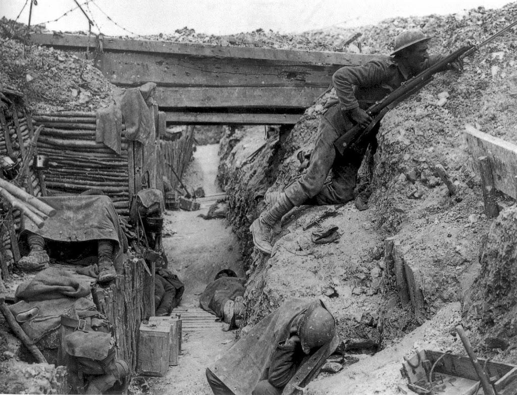 Resultado de imagen de trincheras primera guerra mundial