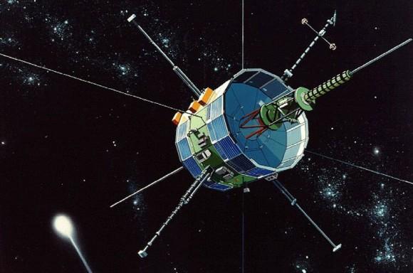 Recreación de la sonda ISEE-3