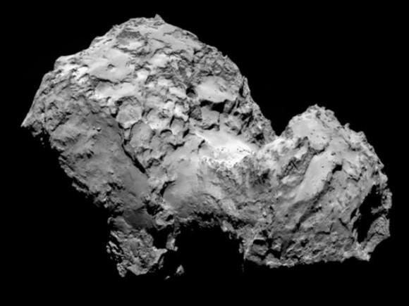 Cometa 67P/Churyumov-Gerasimenko, Chury para los amigos
