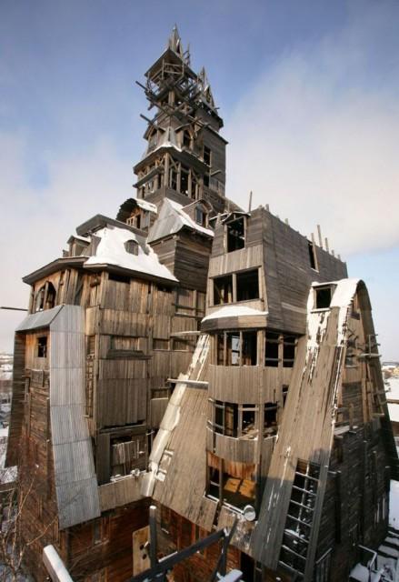 La construcción tiene 44 metros de alto - fuente