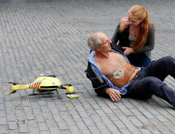 Dron ambulancia