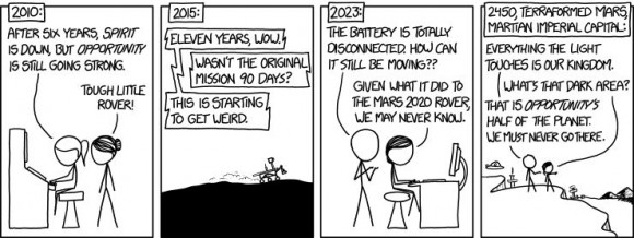 Opportunity - XKCD