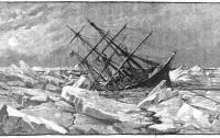 FOTO 04 El Jeannette atrapado por los hielos 12 junio 1881