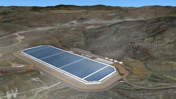 Maqueta de GigaFactory | Tesla Motors