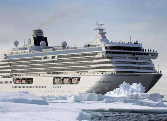 El Crystal Serenity será el primer crucero a través del Paso del Noroeste