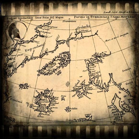 Podcast Irreductible, Serie Polar 002 – Mapas   Ilustración realizada por Illustramento