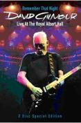 MUSICA: REMEMBER THAT NIGHT DVD - DAVID GILMOUR