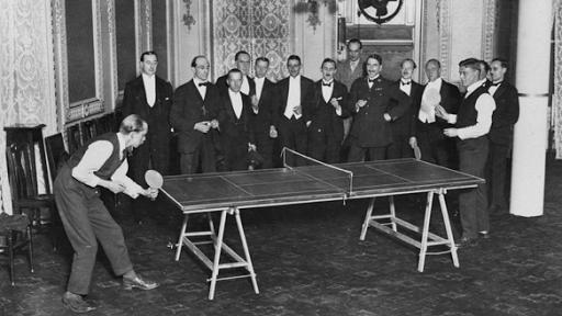 7a73f9976 El curioso y elitista origen del Ping Pong (y no fue en China) - La ...