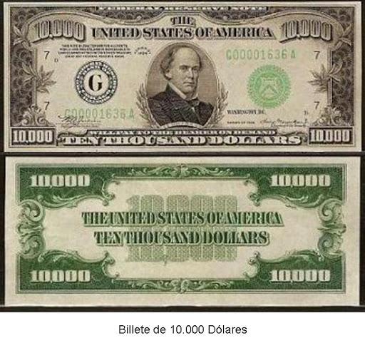 b95954d6e4f55 A la madre de todos los dólares  El billete de 10.000 dólares… el billete  de curso legal de mayor valor que jamás ha circulado en público.