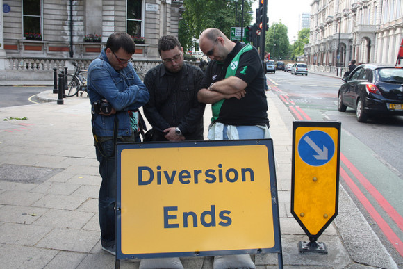 Diversion ends...