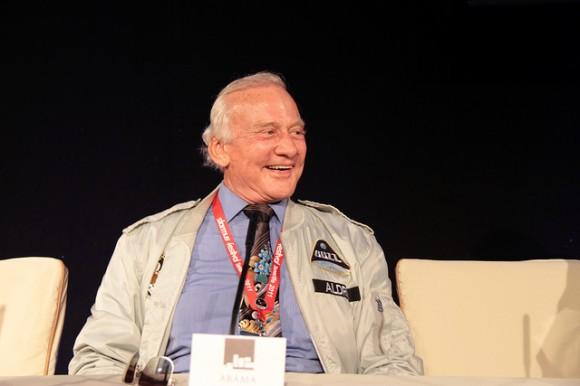 Buzz Aldrin - imagen Javier Peláez