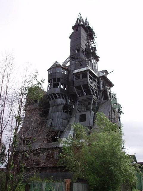 Otra perspectiva de la casa de Nicolai