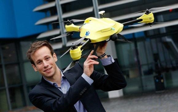 Alex Momont inventor del dron
