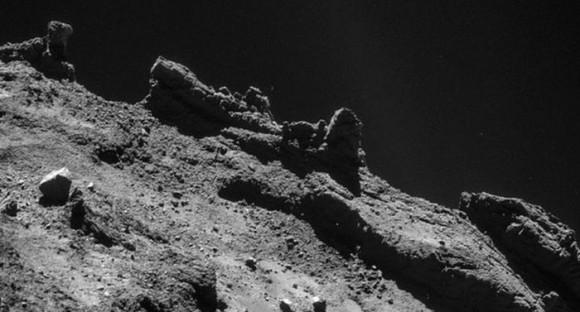 El cometa Chury...