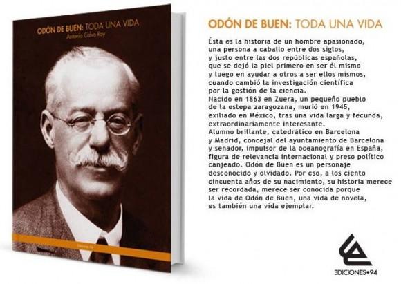 Odón de Buen: Toda una vida - Antonio Calvo Roy