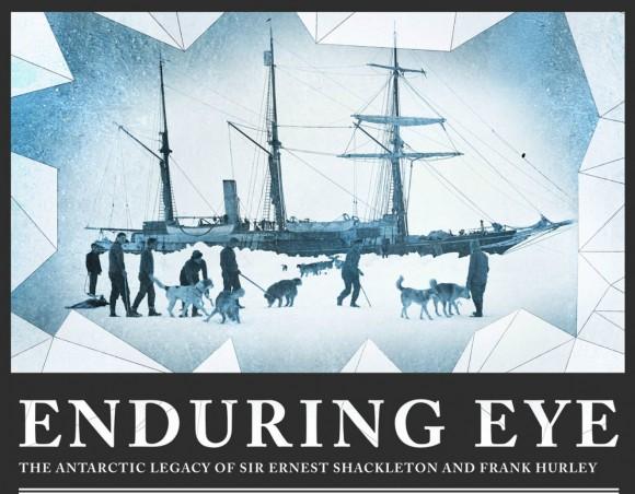 Cartel presentación de la exposición ENDURING EYE de la RGS