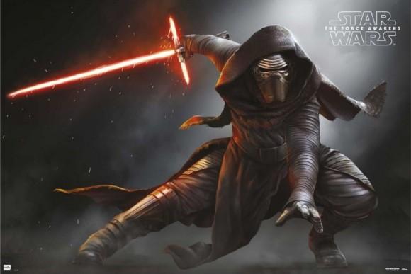 El nuevo Sith y su flamante sable láser