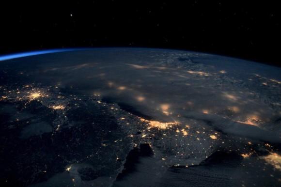 """Imagen de """"Jonas"""" realizada por el astronauta Scott Kelly desde la ISS"""