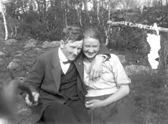 Helmer Larsson y Naemi Larsson (1934)